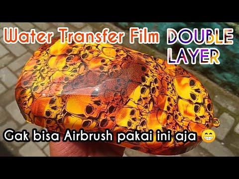 Water Transfer Film Double Layer Samurai Paint