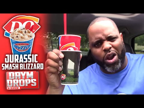 Dairy Queen Jurassic Smash Blizzard