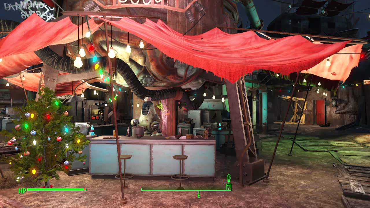 Fallout 4 Diamond City Christmas Easter Egg - YouTube
