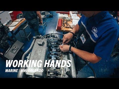 Marine Mechanics Institute (MMI) - Working Hands