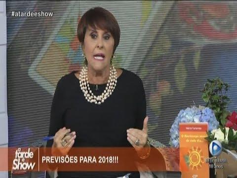 PREVISÕES PARA 2018 com Marcia Fernandes