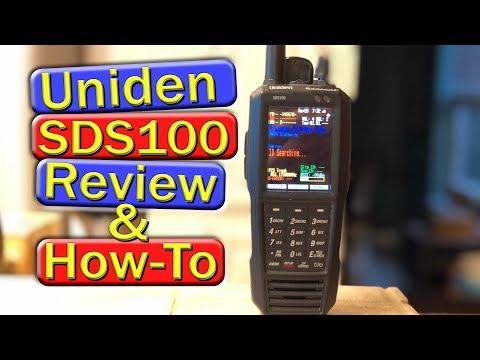 Uniden SDS100 Review and How To - YouTube
