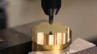 CNC Machining a Brass Knob
