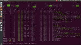 Install Glances on Ubuntu 16.04 (monitoring tool)