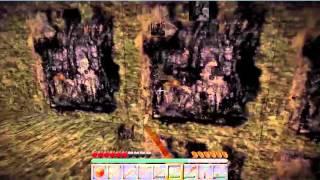 Minecraft Sade Survival 1Bölüm (Kara Elmas Madeni)