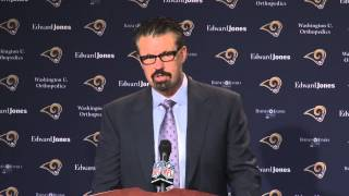 """New Rams DC Gregg Williams """"We have a lot of work to do."""""""