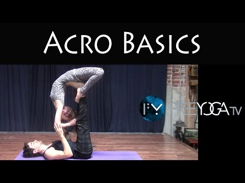 Acro Yoga Basics | Beginner | Partner Yoga Class | Free Yoga TV