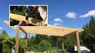 видео Как сделать беседку на даче своими руками