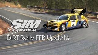 DiRT Rally FFB Update - First Impressions