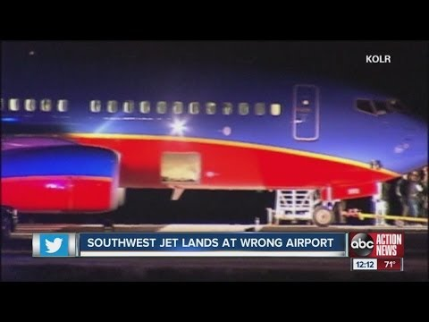 Southwest Airlines flight lands at wrong Missouri airport