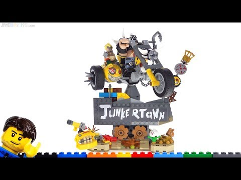 LEGO Overwatch Junkrat & Roadhog quick review + thoughts! 75977