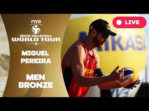 Miguel Pereira 1-Star - 2018 FIVB Beach Volleyball World Tour - Men Bronze Medal Match
