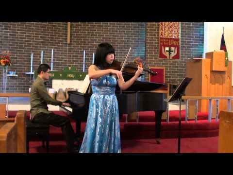 Gabrielle Chou - Brahms Violin Sonata No. 1 in G major, Op. 78