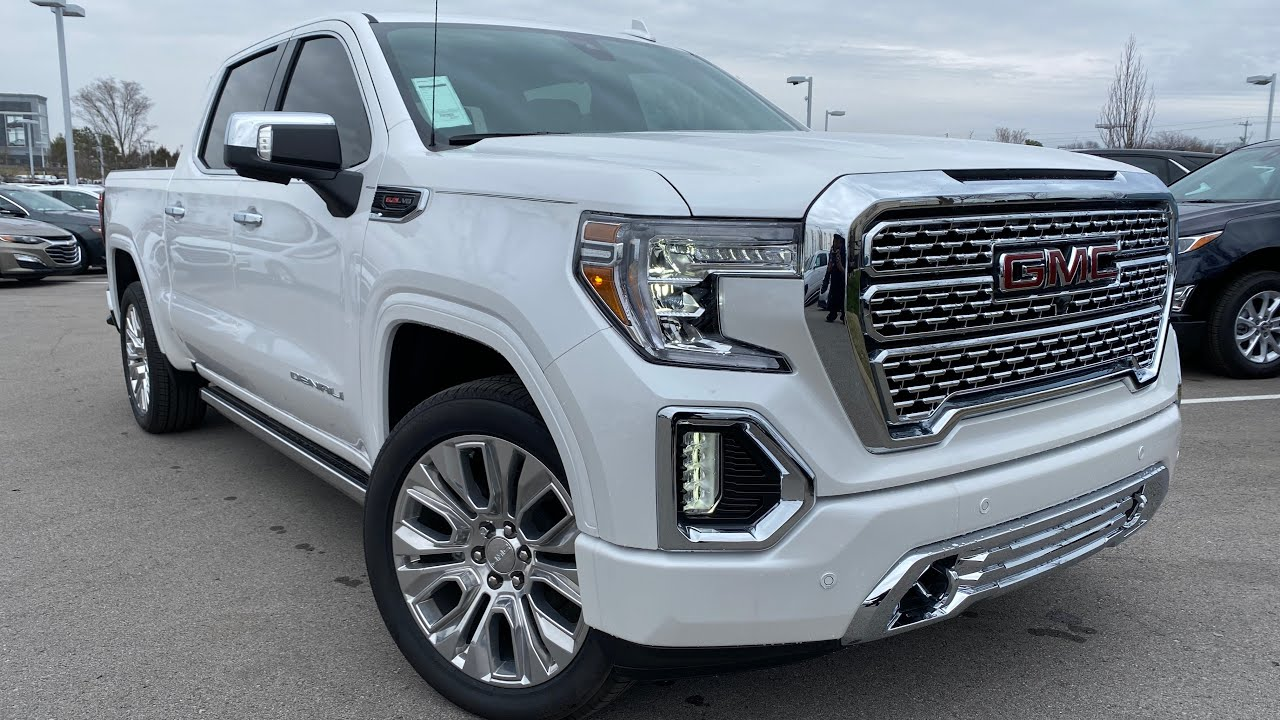 2020 Gmc Sierra Denali 1500 Hd Performance and New Engine