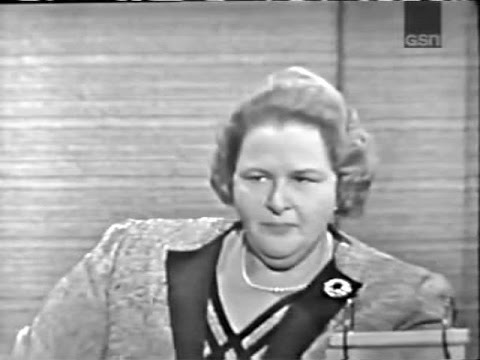 What's My Line? - Kate Smith; PANEL: Tony Randall, Betty Whi