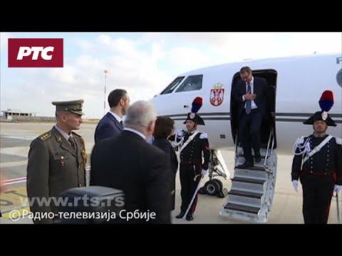 Aleksandar Vučić u Rimu
