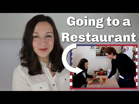 Going to a Restaurant in English: Travel English