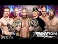 WWE Orton vs Cesaro vs Christian vs Sheamus vs John Cena vs Bryan Elimination Chamber 2014