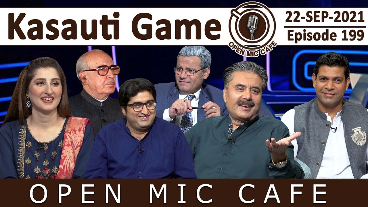 Download Open Mic Cafe with Aftab Iqbal   22 September 2021   Kasauti Game   Episode 199   GWAI