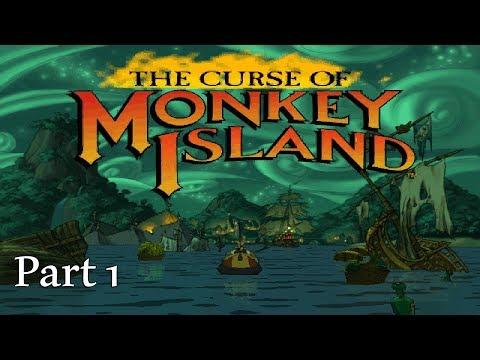 The Curse of Monkey Island Walkthrough (Part 1) |