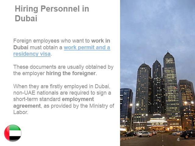 Workforce in Dubai