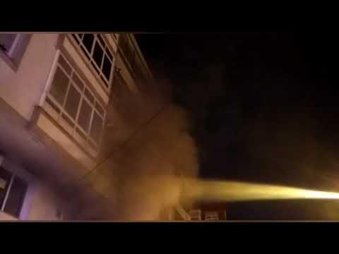 Un incendio en un garaje de Lamas de Prado, en Lugo