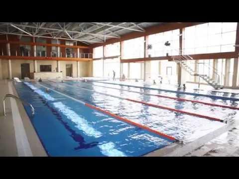 Крытый бассейн с морской водой в Геленджике