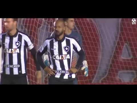 Nacional - URU 0 x 1 Botafogo   Melhores Momentos COMPLETO Copa Libertadores 2017