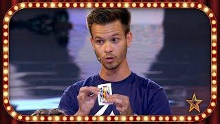 Hace MAGIA utilizando su TELÉFONO MÓVIL y su INSTAGRAM | Inéditos | Got Talent España 2019