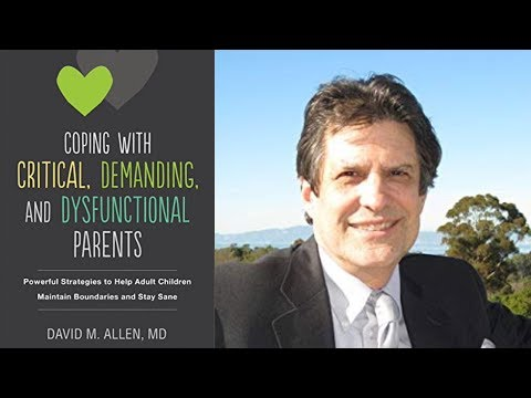Dr David Allen Discusses Dysfunctional Families and Personality ...