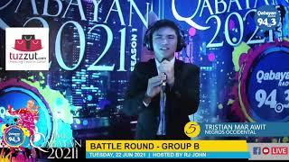 Himig Qabayan 2021 Season 1 - Semi-Finalist - Tristian Mar Awit