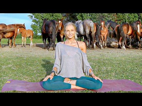 Yoga For Complete Beginners   Easy Gentle Boho Beautiful Yoga
