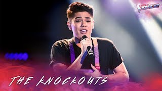 The Knockouts: Sheldon Riley sings Believe | The Voice Australia 2018