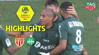 AS Monaco - AS Saint-Etienne ( 2-3 ) - Highlights - (ASM - ASSE) / 2018-19