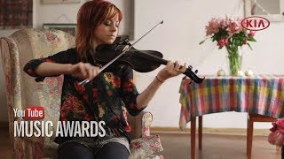 Lindsey Stirling Gets Ready for the YTMAs