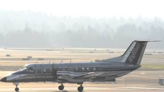 SkyWest USA (United Express) Embraer EMB-120ER Brasilia [N561SW] takes off from Portland