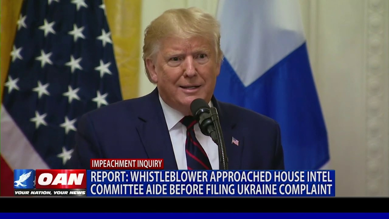 Report: Whistleblower approached House Intel Committee aide before filing Ukraine complaint