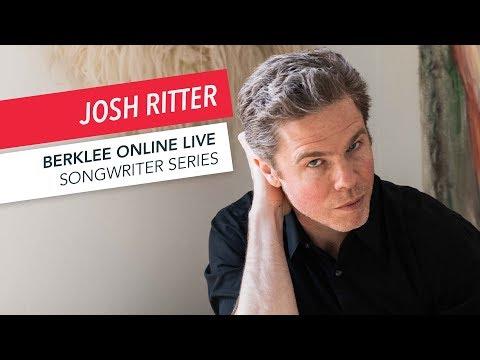 Josh Ritter: Berklee Online LIVE | Songwriting | Q&A | 2017