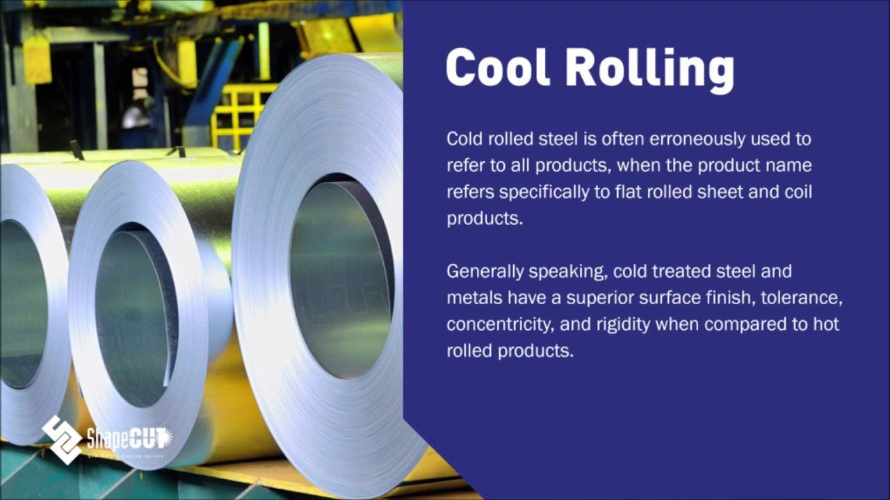 What's the difference between hot and cold rolling