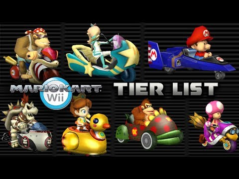 Every Mario Kart Wii Vehicle Ranked