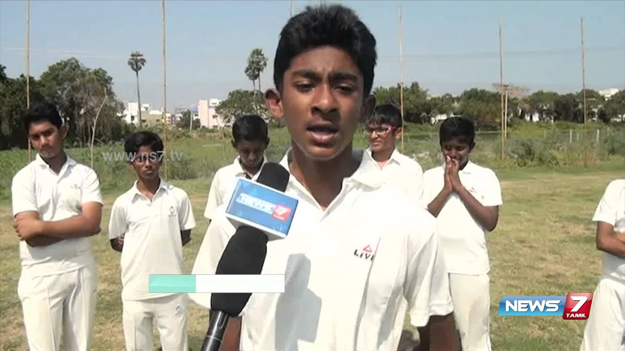 St Johns school wins state level under 13 cricket in Chennai | News7 Tamil