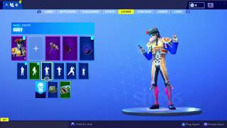 NEW! Leaked Fortnite EMOTES & SKINS (Credit SinX6)