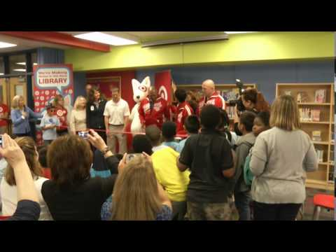 Garden City Elementary Library Makeover - May 2014