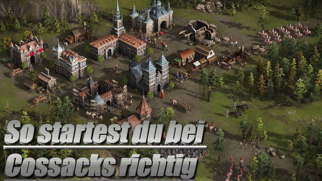 Cossacks 3 Tipps für Anfänger [deutsch] [Gameplay] [steam] [review] - YouTube