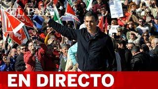 DIRECTO   SÁNCHEZ, en la presentación de la candidatura del PSOE en Sevilla