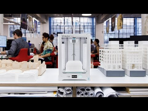 Make Architects: Transforming the model shop with 3D printing