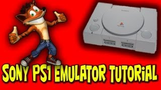 How to Install Playstation 1 Emulator Tutorial (PSX + BIOS)(Easiest Way)