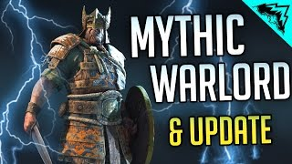 THOR - For Honor Update PC Multiplayer Gameplay (Mythic Warlord Outfit)
