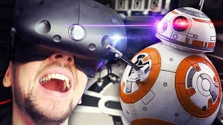 THE EMPIRE ARE COMING | Star Wars Droid Repair (HTC Vive Virtual Reality Wireless)