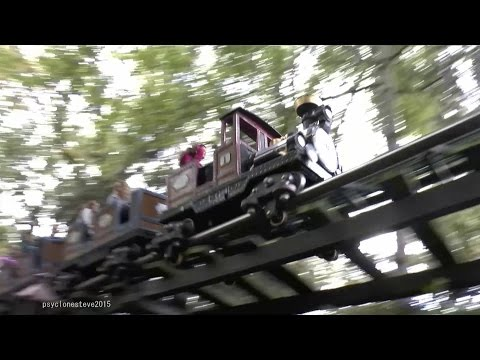 Alpen Express, Europa Park (Back of Train POV) 2014.